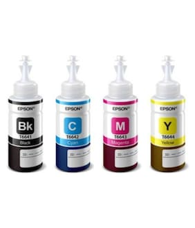 Epson Multicolor Ink Pack of 4 (t664 (Pack of 4)