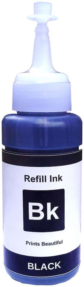 White Sky Epson Printer T6641 Refill Ink 75ml Bottle Black - Compatible