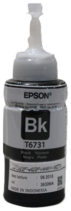 Epson T6731 Black Ink Container (70ml) for Epson L800 Printers (1 x  Main Unit)