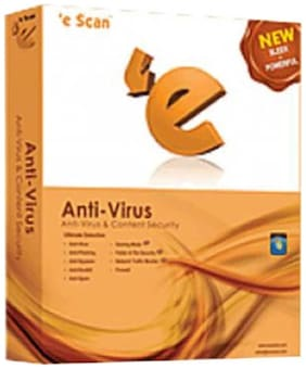 Escan Antivirus With Total Protection 4 Pc 1 Year 2016