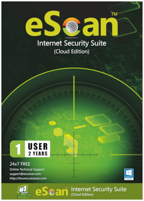 eScan Internet security ( 1 pc , 2 years )