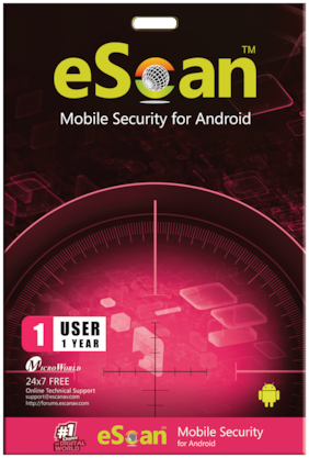 eScan Mobile security ( 1 pc , 1 year )
