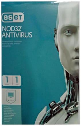 Eset Nod32 Antivirus 1Pc 1Yr