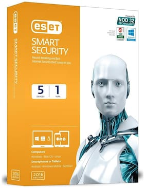 Eset Smart Security 2016 5 Users 1 Year - Retail Box