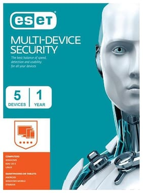 Eset Multi-Device Security 5 Users 1 Year