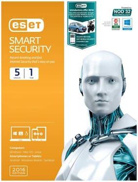 eSet Total Security 2016 (5 PC/1 Year)