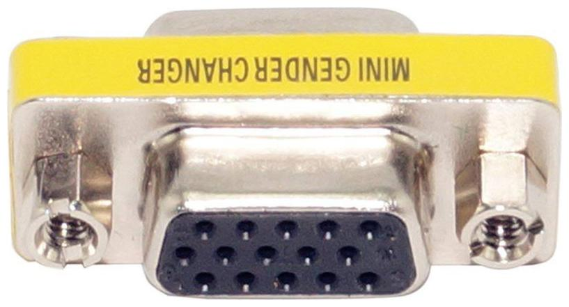 Ever Forever VGA Female to Female Adapter  15 Pin to 15Pin ,VGA FF Gender Changer   D Sub Connector   VGA Adapter