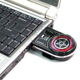 Evercool EC-NB-MA1 Magic Laptop Notebook Air Extracting Cooler Cooling Fan USB
