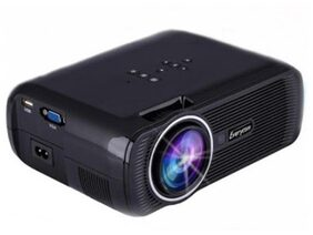 Original Everycom X7 LED Projector 1800 Lumens HDMI USB VGA TV Home Theater