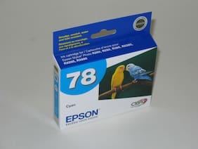 Expired Genuine Epson T0782 cyan ink 78 R260 R280 R380 RX580 RX595 RX680 Artisan