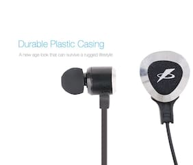 F&D E310 Wired Earphones with Mic (Black)