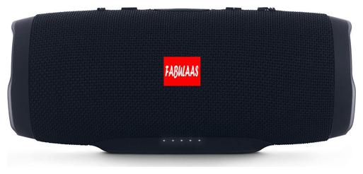 Fabulaas High Bass Portable Bluetooth Speaker for All Mobiles/Tablets / Laptops  Black