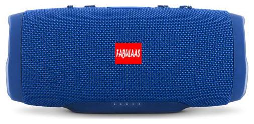 Fabulaas High Bass Portable Bluetooth Speaker for All Mobiles/Tablets / Laptops  Blue