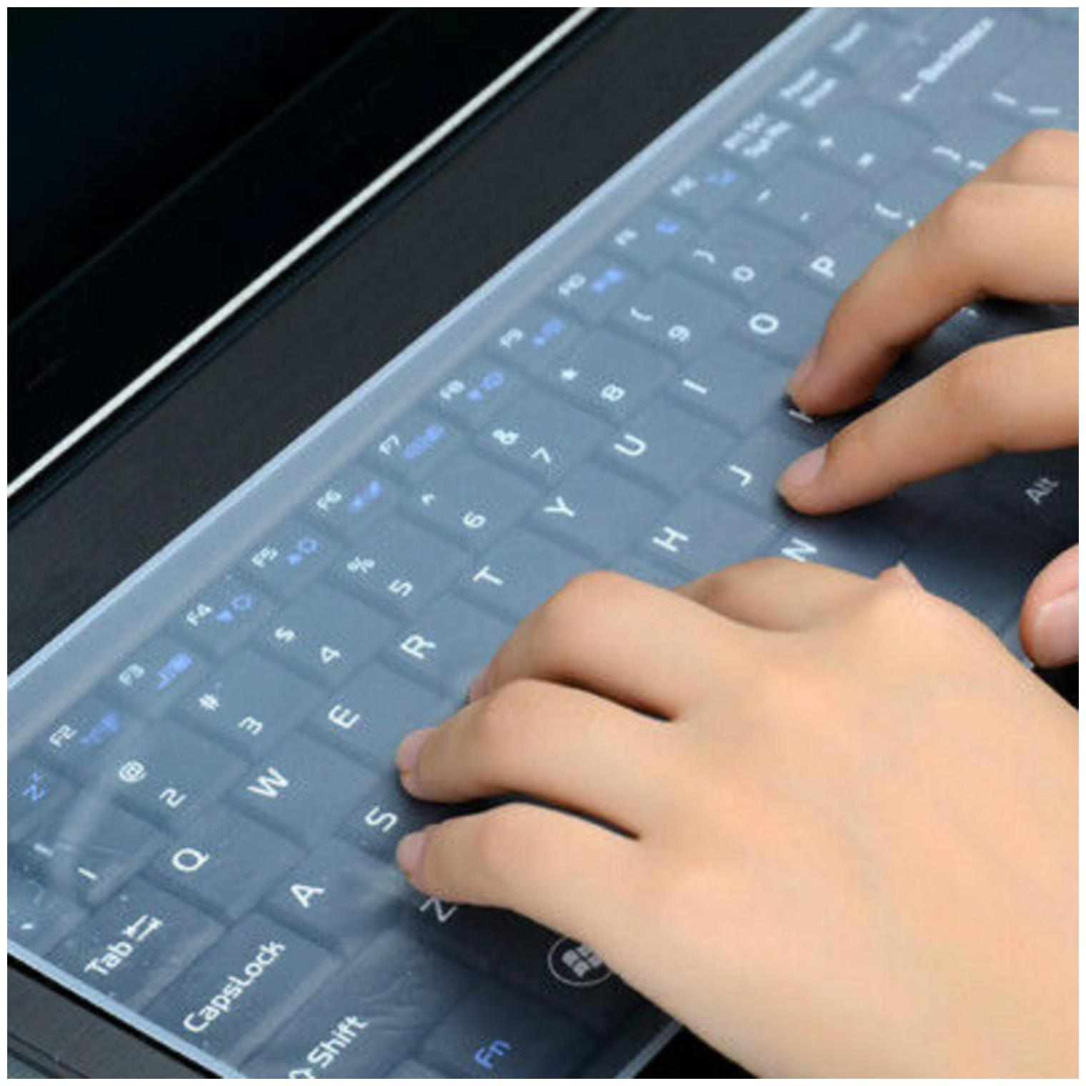 FEDUS Universal laptop keyboard protector skin, laptop keyboard cover, laptop keyboard protector skin 14 inch, laptop keyboard silicon cover, laptop