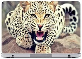 FineArts Angry Panther Laptop Skin For 15.6 inch Laptop