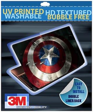 FineArts Captain Of America Laptop Skin For 15.6 (39.6 cm) Laptop