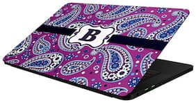 FineArts Combo of Alphabet Design - LS5207 Laptop Skin and Mouse Pad