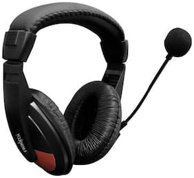 Frontech JIL 3442 Wired Over Ear Headphone (Black)