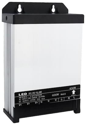 G GAPFILL 12V DC Power Supply 400W 33A RAINPROOF SMPS 240V AC to 12V DC Converter for LED ,  Panels,CCTV
