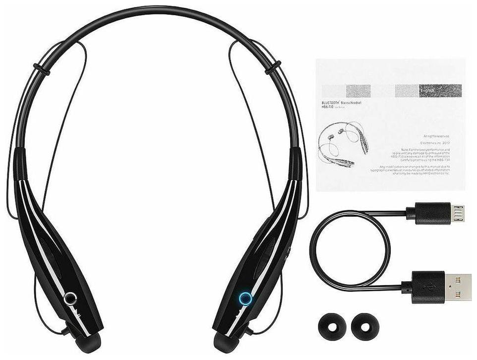 G GAPFILL Bluetooth Headset ( Black /WHITE) HBS730 HIGH QUALITY GREAT SOUND