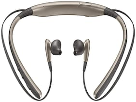 G GAPFILL LVL BLUETOOTH EARPHONES NECKBAND In-Ear Bluetooth Headset ( Champagne )