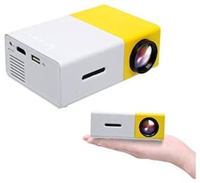 G300 YG 300 Mini Portable Led Projector 1080P/ Palm Size / Supporting A Variety of Video / Pictures / Music Formats