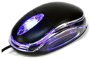 GadgetX GM9 Wired Mouse ( Black )