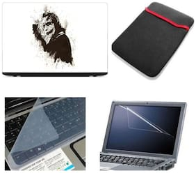 Gallery 83 4 in 1 laptop skin combo kit laptop sleeve, key guard , screen protector