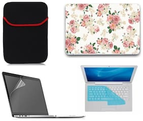 Gallery 83 4 in 1 laptop skin combo kit laptop sleeve, key guard , screen protector