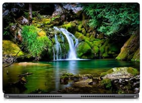Gallery 83  - Beautiful Waterfall Scenary Laptop Decal, laptop skin sticker 15.6 inch (15 x 10) Inch g83_skin_0457new