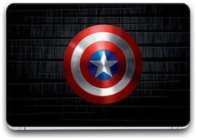 Gallery 83  - camptain america shield Laptop Decal, laptop skin sticker 15.6 inch (15 x 10) Inch G83_skin_01__3365