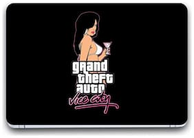 Gallery 83  - grand theft auto vice city game Laptop Decal, laptop skin sticker 15.6 inch (15 x 10) Inch G83_skin_01__3127