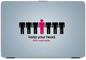 Gallery 83  - keep your head Exclusive High Quality Laptop Decal, laptop skin sticker 15.6 inch (15 x 10) Inch g83_skin_1442new