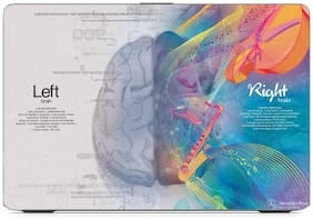 Gallery 83  - left brain with right brain creative Exclusive High Quality Laptop Decal, laptop skin sticker 15.6 inch (15 x 10) Inch g83_skin_1478new
