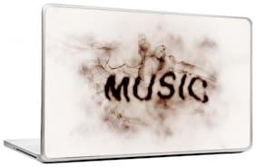 Gallery 83  - Music Smoke Effect Laptop Decal, laptop skin sticker 15.6 inch (15 x 10) Inch g83_skin_099new
