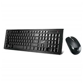 Genius Wireless Smart Keyboard and Mouse Combo [SlimStar 8008] - Multimedia Key
