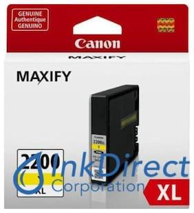 Genuine Canon  9270B001  PGI-2200 XL Ink Jet Cartridge Yellow