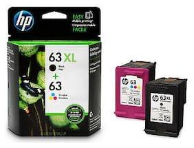 Genuine HP 63XL B Box 63C Foil Ink Cartridges 4522 4523 4524 Officejet 4650 4652