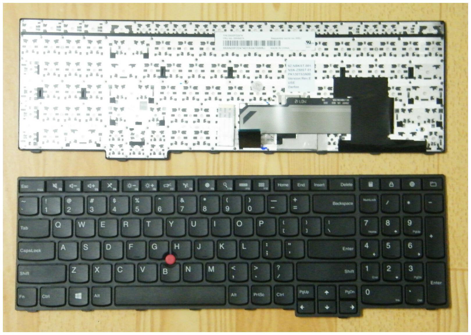 Genuine Lenovo Thinkpad Edge E560 E560c Keyboard 00HN000 00HN074 00HN037