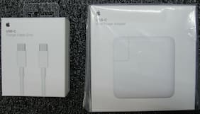 Genuine New Apple 61W USB Type-C Power Adapter MRW22LL/A w/USB Cable A1947&A1739
