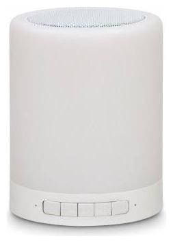 Giftana TOUCH LAMP SPEAKER Bluetooth Portable Speaker ( White )