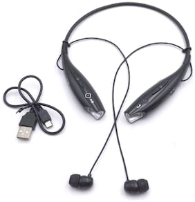 Altronics High Quality Neck-Around Wireless Joggers Band In-Ear Bluetooth Headset ( Black )