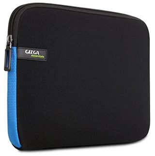 Gizga Essentials 11.6-Inch Laptop Sleeve (Black-Blue)