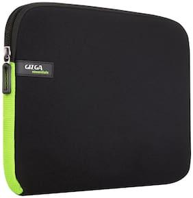 Gizga Essentials 13.3-Inch Laptop Sleeve (Black-Green)
