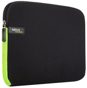 Gizga Essentials 13.3-Inch Laptop Sleeve (Black-Green)