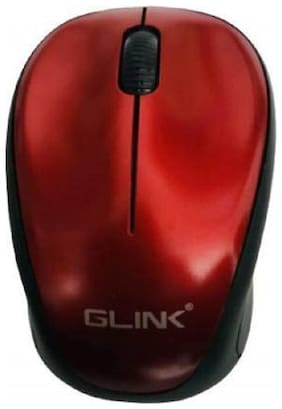 GLINK Glinkred Wireless Mouse ( Red )