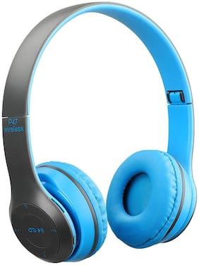 GLINK P47 Over-Ear Bluetooth Headset ( Blue )