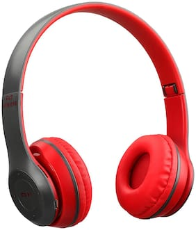GLINK P47 Over-Ear Bluetooth Headset ( Red )