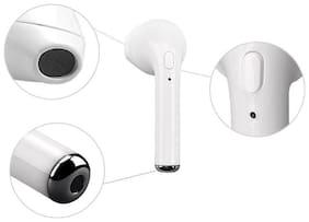 Buddies Cart BOAT WIRELESS EARPHONES BLUETOOTH Mono bluetooth headset Bluetooth Headsets ( White )