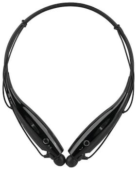 Gobuy HBS-730 Headphone Premium Sound Bluetooth Headset with Mic  (Black, On the Ear)